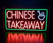 Chinese Take Away Neon Sign